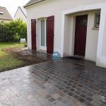 Terrassement pavage a Limours